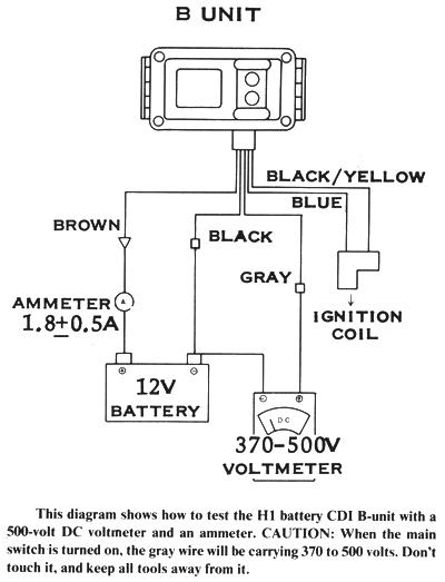 Motorcycle Voltmeter Wiring Diagram